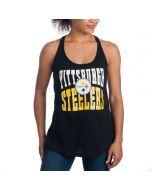 Pittsburgh Steelers Women's New Era Exclusive Tank