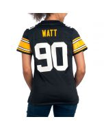 T.J. Watt #90 Nike Women's Replica Throwback Jersey