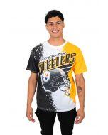 Pittsburgh Steelers Men's Paint Blast Short Sleeve T-Shirt