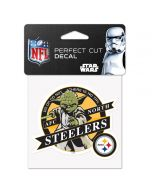 Pittsburgh Steelers Star Wars Yoda Decal
