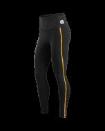 Pittsburgh Steelers Women's Side Stripe Tight