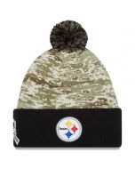 Pittsburgh Steelers Youth Salute to Service Knit Hat