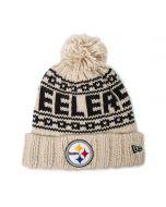 Pittsburgh Steelers Women's New Era 2021 Sideline Knit Hat