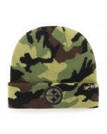 Pittsburgh Steelers '47 Grove Camo Knit Hat