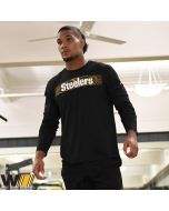 Pittsburgh Steelers Nike Legend Onfield Seismic Black Long Sleeve T-Shirt