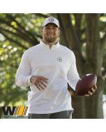 Pittsburgh Steelers Nike Golf Therma 1/2 Zip Top