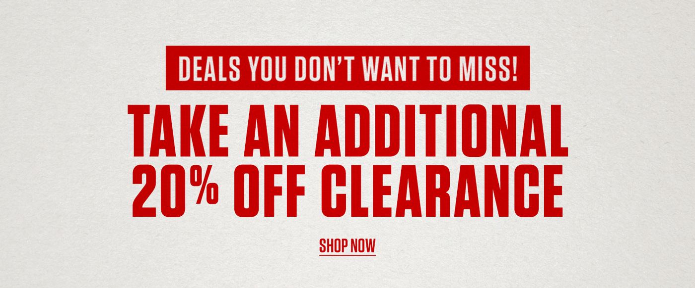 Shop 20% Off Clearance