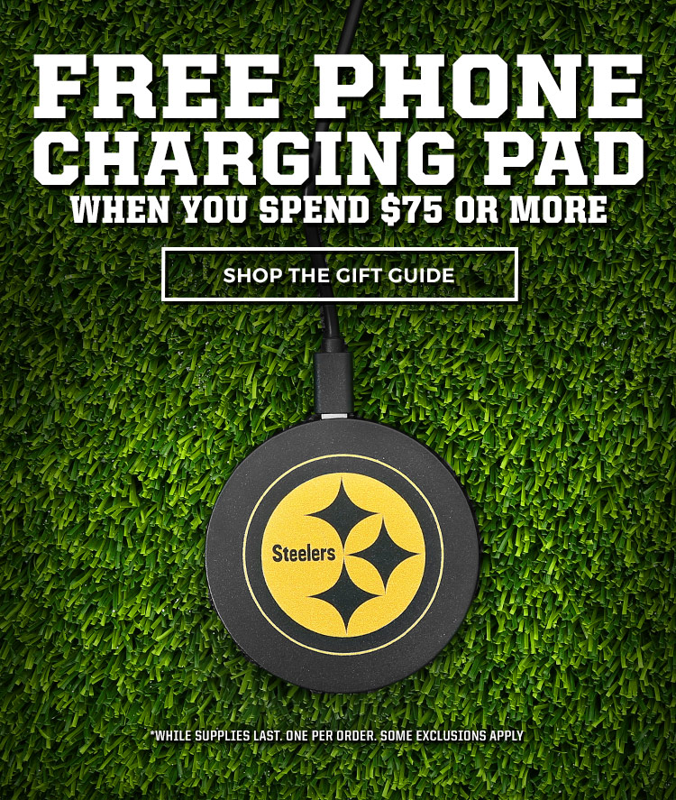 Free Phone Charging Pad with any purchase over $75.