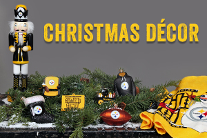 Shop Steelers Christmas Decor