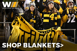 Shop Steelers Blankets and Throws